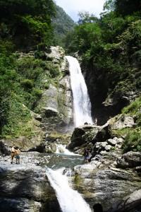 iscr georgien georgia kaukasus landscape caucasus waterfall cascade