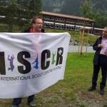 iscr georgia caucasus flag cooperation rustavi