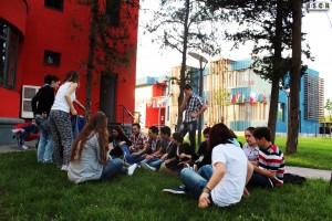 iscr georgia caucasus outside play memebers garden